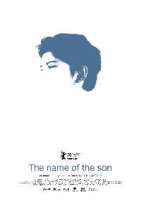 Der Name des Sohnes
